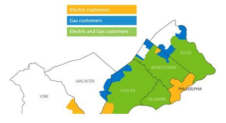 PECO Service Map
