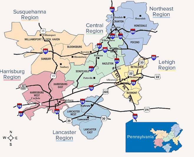 PPL Service Area Map