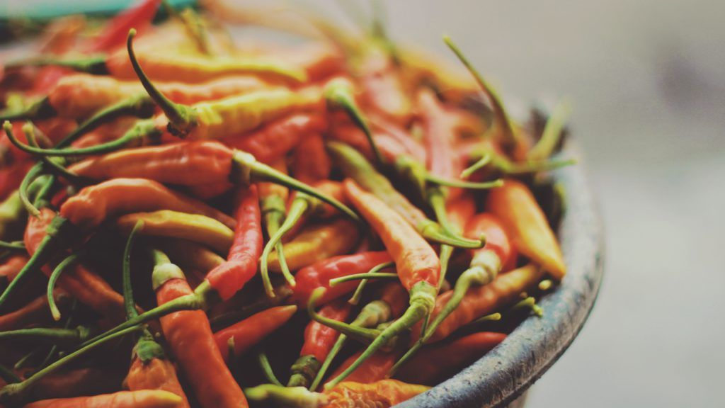 spicy foods can cool you down