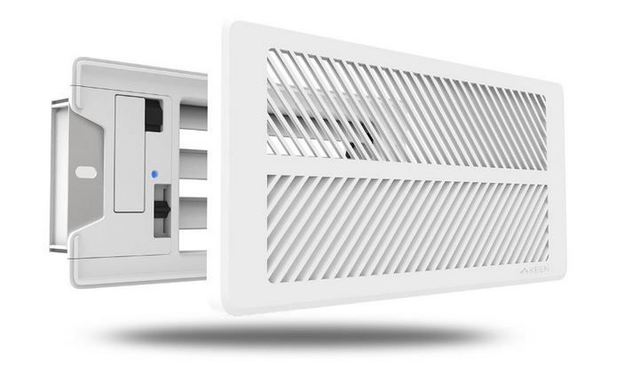 Keen smart vents will help you save money on electricity bill