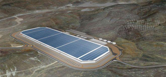 Telsa gigafactory will produce massive amount of batteries