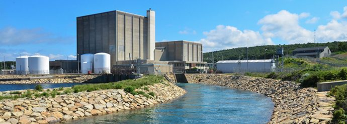 pilgrim nuclear power plant goes offline