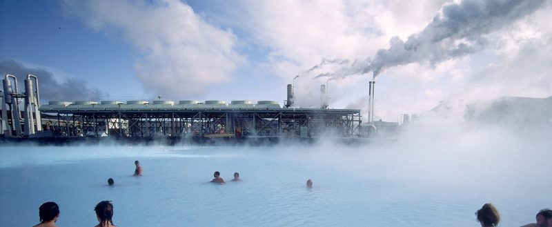 icleand's geothermal power plant